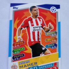 Cromos de Fútbol: 11 MAHER (PSV EINDHOVEN) CHAMPIONS LEAGUE TOPPS MATCH ATTAX 2016 2017 16 17. Lote 246016150