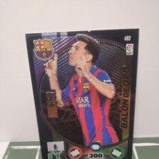 Cromos de Fútbol: CROMO MESSI Nº 463 - PANINI ADRENALYN XL 2014-2015 14 15 (BARCELONA) BALON DE ORO. Lote 246021510