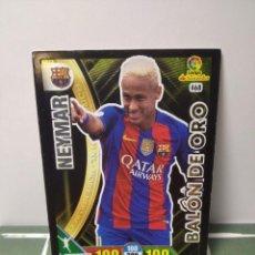 Cromos de Fútbol: NEYMAR Nº 468 BALÓN DE ORO BARCELONA - ADRENALYN XL 2016 2017 16 17 PANINI - CROMO ALBUM LIGA FÚTBOL. Lote 246173855