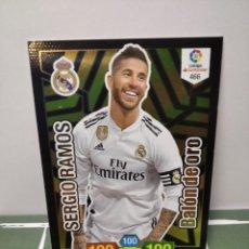 Cromos de Fútbol: SERGIO RAMOS Nº 466 REAL MADRID BALON DE ORO - ADRENALYN 2018 2019 18 19 CROMO PANINI FUTBOL. Lote 246193825