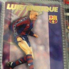 Cromos de Fútbol: PANINI TRADING CARDS FCBARCELONA 96 97 LUIS ENRIQUE ROOKIE VERSION B. Lote 246196605