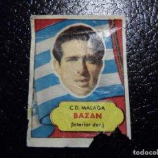 Cromos de Fútbol: BAZAN DEL MALAGA BRUGUERA ASES DEL FUTBOL 1952 - 1953 ( 52 53 ). Lote 246253785