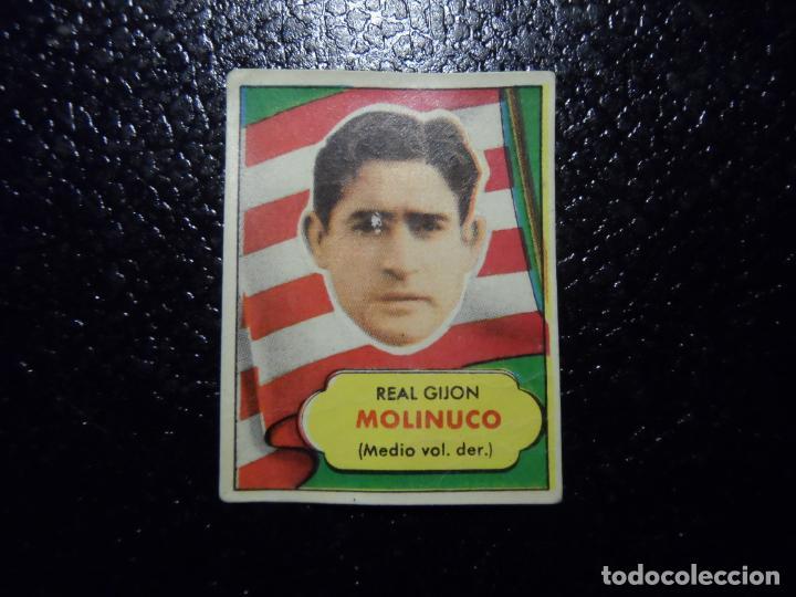 MOLINUCO DEL SPORTING DE GIJON BRUGUERA ASES DEL FUTBOL 1952 - 1953 ( 52 53 ) (Coleccionismo Deportivo - Álbumes y Cromos de Deportes - Cromos de Fútbol)