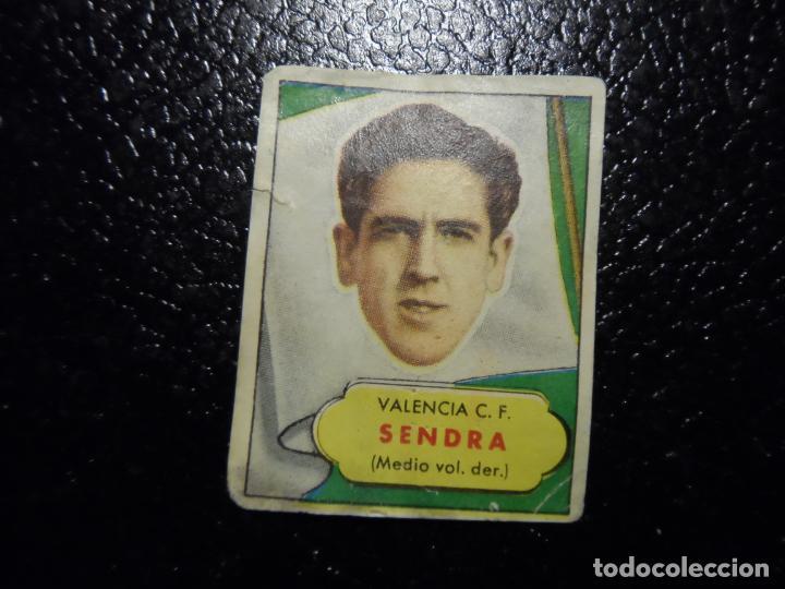 SENDRA DEL VALENCIA BRUGUERA ASES DEL FUTBOL 1952 - 1953 ( 52 53 ) (Coleccionismo Deportivo - Álbumes y Cromos de Deportes - Cromos de Fútbol)