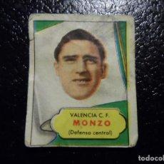 Cromos de Fútbol: MONZO DEL VALENCIA BRUGUERA ASES DEL FUTBOL 1952 - 1953 ( 52 53 ). Lote 246256070