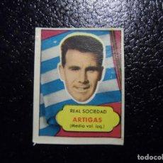 Cromos de Fútbol: ARTIGAS DE LA REAL SOCIEDAD BRUGUERA ASES DEL FUTBOL 1952 - 1953 ( 52 53 ). Lote 246256585