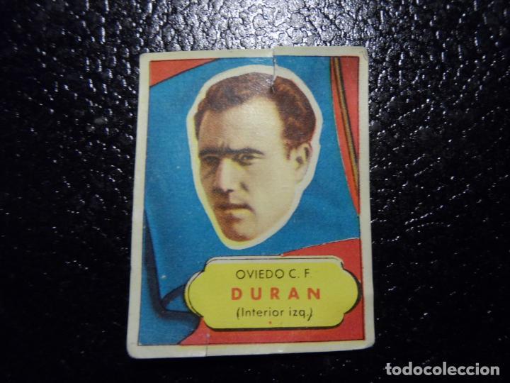 DURAN DEL OVIEDO BRUGUERA ASES DEL FUTBOL 1952 - 1953 ( 52 53 ) (Coleccionismo Deportivo - Álbumes y Cromos de Deportes - Cromos de Fútbol)