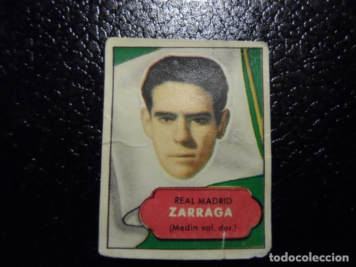 ZARRAGA DEL REAL MADRID BRUGUERA ASES DEL FUTBOL 1952 - 1953 ( 52 53 ) (Coleccionismo Deportivo - Álbumes y Cromos de Deportes - Cromos de Fútbol)