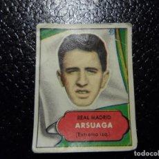 Cromos de Fútbol: ARSUAGA DEL REAL MADRID BRUGUERA ASES DEL FUTBOL 1952 - 1953 ( 52 53 ). Lote 246260625