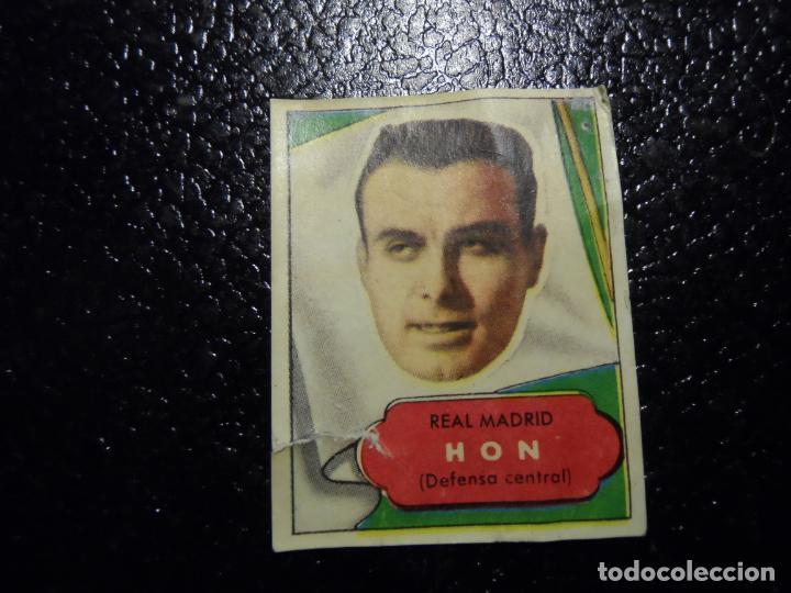 HON DEL REAL MADRID BRUGUERA ASES DEL FUTBOL 1952 - 1953 ( 52 53 ) (Coleccionismo Deportivo - Álbumes y Cromos de Deportes - Cromos de Fútbol)