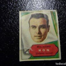 Cromos de Fútbol: HON DEL REAL MADRID BRUGUERA ASES DEL FUTBOL 1952 - 1953 ( 52 53 ). Lote 246260965
