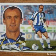 Cromos de Fútbol: CROMO LIGA ESTE 00 01 LARRAINZAR (MALAGA) - NUNCA PEGADO - 2000 2001. Lote 246286665