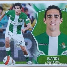 Cromos de Fútbol: ESTE 2008 2009 PANINI JUANDE (BETIS) - SIN PEGAR - CROMO FUTBOL LIGA 08 09. Lote 246286755