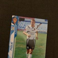 Cromos de Fútbol: PIQUE 348 BIS MEGACRACKS 2006-2007 ROOKIE. Lote 246351525