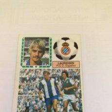 Cromos de Fútbol: CROMO 83/84 LIGA ESTE. LAURIDSEN. ESPANYOL. NUNCA PEGADO.. Lote 246356320
