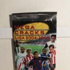 Cromos de Fútbol: SOBRE MEGACRAKS 2004/2005 ABIERTO CON SEIS FICHAS EN SU INTERIOR. Lote 246853050