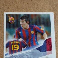 Cromos de Fútbol: SUPER BARÇA 2005 2006 05 06 - PANINI MESSI #109 FC. BARCELONA AUTOGRÁFO PREIMPRESO NUNCA PEGADO 464. Lote 247221475