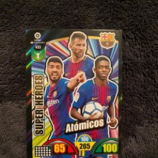 Cromos de Futebol: ADRENALYN 2017 2018 SÚPER HÉROES ATÓMICOS 435 BARCELONA. Lote 247545630