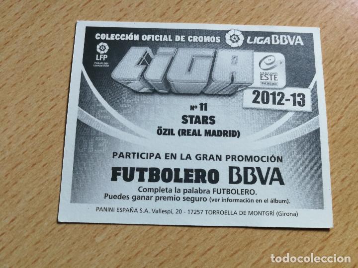 Cromos de Fútbol: Ozil, Real Madrid, cromo STARS, editorial Este 12/13, 2012 - Foto 2 - 247565190