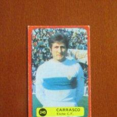 Cromos de Fútbol: LIGA FUTBOL 75 - 76 CROMO 245 CARRASCO ELCHE CROMOS 1975 - 1976 GRAFIMUR SOLANO JIMENEZ GODOY. Lote 248130625
