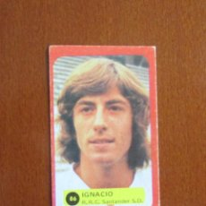 Cromos de Fútbol: LIGA FUTBOL 75 - 76 CROMO 86 IGNACIO SANTANDER CROMOS 1975 - 1976 GRAFIMUR SOLANO JIMENEZ GODOY. Lote 248130815