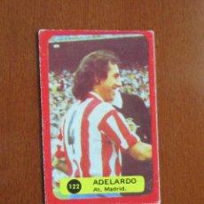 Cromos de Fútbol: LIGA FUTBOL 75 - 76 CROMO 122 ADELARDO AT. MADRID CROMOS 1975 - 1976 GRAFIMUR SOLANO JIMENEZ GODOY. Lote 248131005