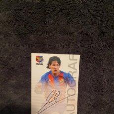 Cromos de Fútbol: MESSI ROOKIE 2004 MEGACRACKS CAMPIO MÁS 539 CROMOS. Lote 248250340