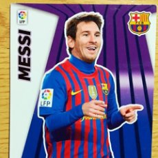 Cromos de Fútbol: MGK 414 MESSI MEGA BOMBERS F.C. BARCELONA CROMOS MEGACRACKS LIGA FUTBOL 2012 2013 12 13 PANINI. Lote 248811155