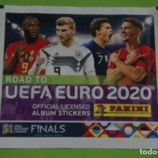 Cartes à collectionner de Football: SOBRE DE CROMOS DE FÚTBOL SIN ABRIR DE ROAD TO UEFA 2020 DE PANINI. Lote 268258554