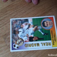 Cromos de Futebol: 191 MICHEL REAL MADRID PANINI 94 95 1994 1995 SIN PEGAR. Lote 249526930