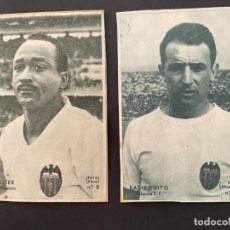 Cromos de Fútbol: LOTE DE DOS CROMOS DE FUTBOL DEL FUTBOL CLUB VALENCIA (WALTER Y PASIEGUITO DE L PERIODICO DICEN). Lote 250107435
