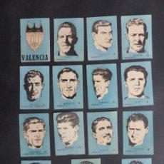 Cromos de Fútbol: 312 CROMOS DIFERENTES FUTBOL - CHOCOLATES EL LINCE Y MADAM - AÑO 1951 - VER FOTOS ADICIONALES. Lote 251386165
