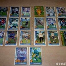 Cromos de Fútbol: 20 FICHAS DE LA LIGA 96 97 R.ZARAGOZA.. Lote 251669550
