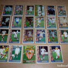 Cromos de Fútbol: 23 FICHAS DE LA LIGA 96 97 SEVILLA FUTBOL CLUB.. Lote 251670000