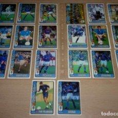 Cromos de Fútbol: 20 FICHAS DE LA LIGA 96 97 REAL OVIEDO.. Lote 251670725