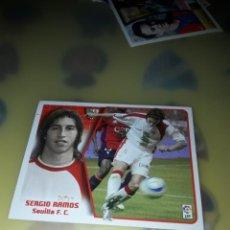 Cromos de Fútbol: SERGIO RAMOS SEVILLA 2005-06 NUEVO SIN PEGAR. Lote 251971465