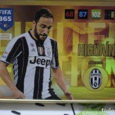 Cromos de Fútbol: LIMITED EDITION HIGUAÍN JUVENTUS ADRENALYN XL FIFA 365 2016 2017 PANINI CARD GAME. Lote 252331460