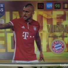 Cromos de Fútbol: LIMITED EDITION VIDAL BAYERN MUNCHEN ADRENALYN XL FIFA 365 2016 2017 PANINI CARD GAME. Lote 252358200