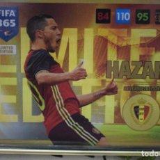 Cromos de Fútbol: LIMITED EDITION HAZARD BELGIUM BÉLGICA ADRENALYN XL FIFA 365 2016 2017 PANINI CARD GAME. Lote 252359750