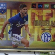 Cromos de Fútbol: LIMITED EDITION HUNTELAAR SHALKE 04 ADRENALYN XL FIFA 365 2016 2017 PANINI CARD GAME. Lote 252360345