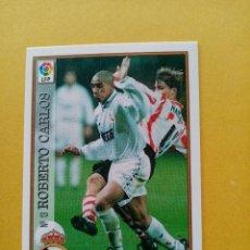 Cromos de Futebol: Nº 13 ROBERTO CARLOS, REAL MADRID CF, FICHAS LIGA 1997 1998 97/98 MUNDICROMO. Lote 252369345