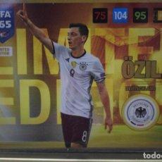 Cromos de Fútbol: LIMITED EDITION OZIL ALEMANIA ADRENALYN XL FIFA 365 2016 2017 PANINI CARD GAME. Lote 252373235