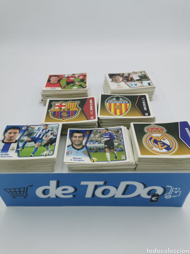 LOTE 659 CROMOS 2005 2006 (Coleccionismo Deportivo - Álbumes y Cromos de Deportes - Cromos de Fútbol)