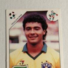Cromos de Fútbol: ROMARIO EN SU DEBUT CON LA SELECCION BRASILEÑA ITÀLIA 90 ROOKIE. Lote 252524310