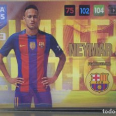 Cromos de Fútbol: LIMITED EDITION NEYMAR FC BARCELONA ADRENALYN XL FIFA 365 2016 2017 PANINI CARD GAME. Lote 252559935