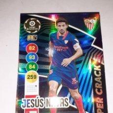 Cromos de Fútbol: ADRENALYN XL, TEMPORADA 2020/21, EDITORIAL PANINI, JUGADOR JESÚS NAVAS (SUPER CRACK), Nº 454. Lote 277653528