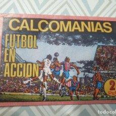Cartes à collectionner de Football: SOBRE CALCOMANIAS , FUTBOL EN ACCION 1974. Lote 252691810