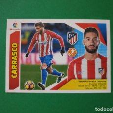 Cartes à collectionner de Football: 12 CARRASCO - ATLÉTICO MADRID - EDICIONES ESTE 2017-18 - 17/18 (NUEVO). Lote 227705885