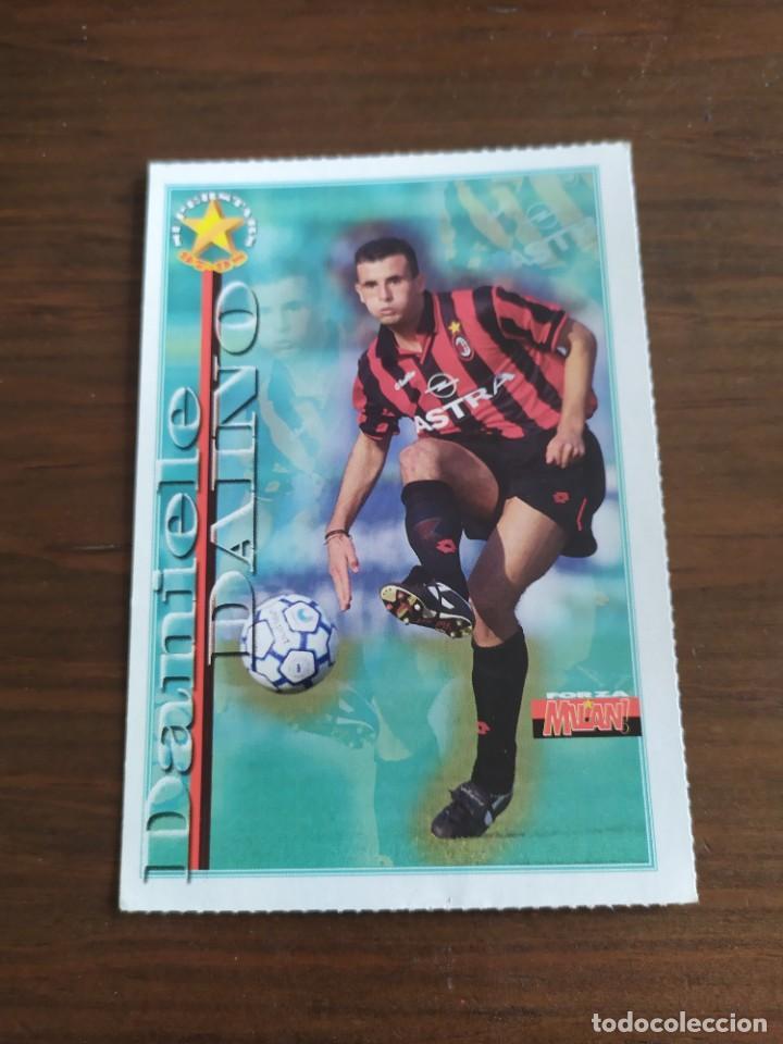 CROMO POSTAL DEL MILAN DE ITALIA DE COLECCION DANIELE DAINO (Coleccionismo Deportivo - Álbumes y Cromos de Deportes - Cromos de Fútbol)