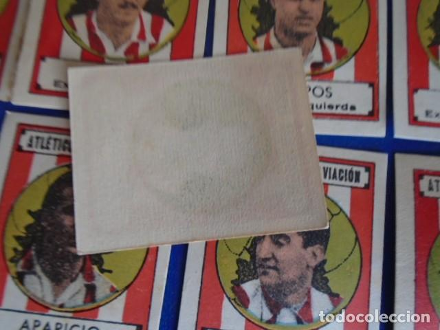 Cromos de Fútbol: (F-210400H)LOTE DE 9 CROMOS SOBRE BALON 1942-43 - ATLETICO CLUB AVIACION - Foto 4 - 253441695